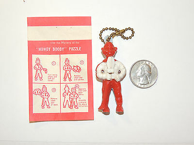 NBC Howdy Doody Puzzle Key chain over 2 inches tall (11379)