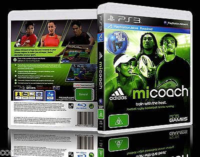 (PS3) Adidas miCoach (G) (Fitness) Guaranteed, 100% Tested, Australian