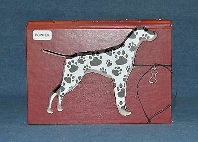 Pointer Upcycled Book - 003