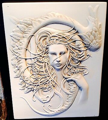 latex mould for making Beautiful Art Deco plaque