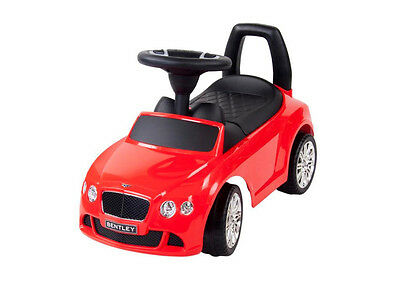Baby Toddlers Ride On Push Along Ride on Car - RED BENTLEY