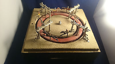 Antique Horse Racing Parlor Game 1880s French Jeu De Course Casino Works!