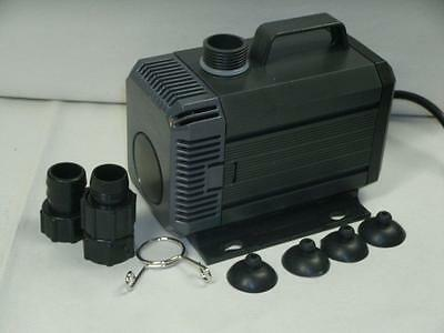 SUBMERSIBLE KOI POND PUMP/WATERFALL 1450gph