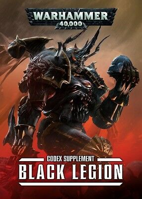 Black Legion supplement Codex (Englisch) Games Workshop Warhammer 40.000 Chaos