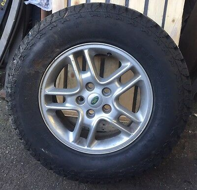 Land Rover Discovery 3 Alloy Wheel And Tyre 245/70R17 General Grabber At2