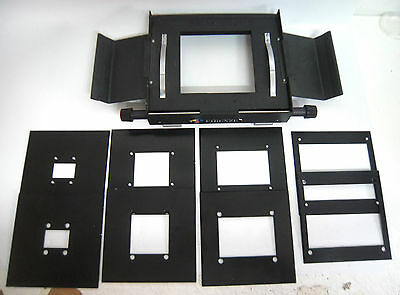 IF.F Large format Enlarger Negative Carrier 12x12cm 4 wings with 4 Masks ---M7