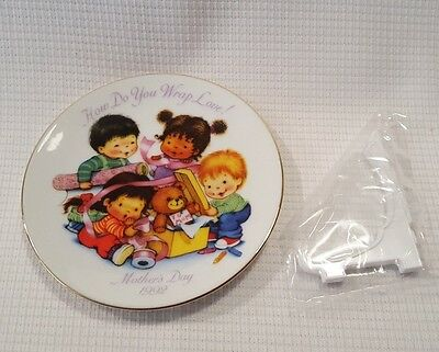 1992 Avon Mother's Day Plate How Do You Wrap Love NOS New In Box