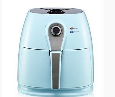 Cook's Essentials Air Fryer with Frying Basket & Grill Rack - Duck Egg Blue