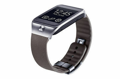 Original Samsung Gear 2 / Gear 2 Neo Genuine Leather Wrist Strap In Brown Colour