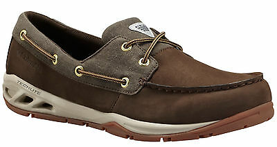 """New Mens Columbia """"Boatdrainer Fly"""" PFG Techlite Omni-Grip Boat Water Shoes"""