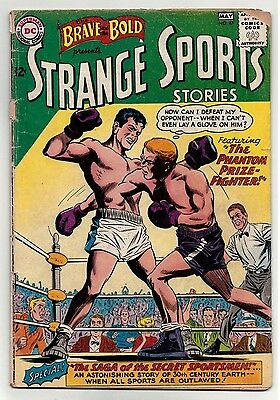 Brave and the Bold #47 Strange Sports Stories DC Comics 1963 Silver Age Sports