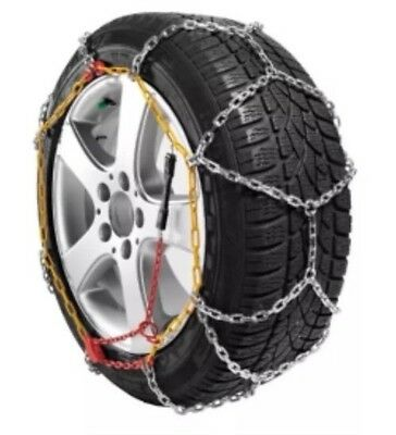 Ultimate Speed Snow Chain Set Plastic Carry Case Size 80 Tyre 2 Pack Winter Ice