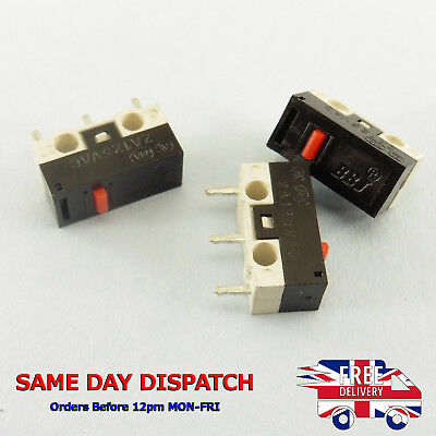 Micro Switch 2A Button Small Contractor NO NC Push SPDT Mini Microswitch #Z326