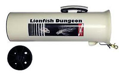 New Lionfish Dungeon scuba spearfishing containment tube