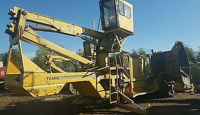 Vermeer Tub Grinder Chipper Brush Removal  Obo