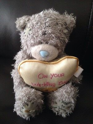 Me To You Tatty Teddy 'on Your Wedding Day' Loose