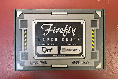 Loot Crate QMX Firefly Cargo Crate #4 Hoban Washburne Size XL