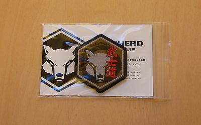 SFA Dog Head Bushido Icon Edition Patch Shepherd Firearms Tactical
