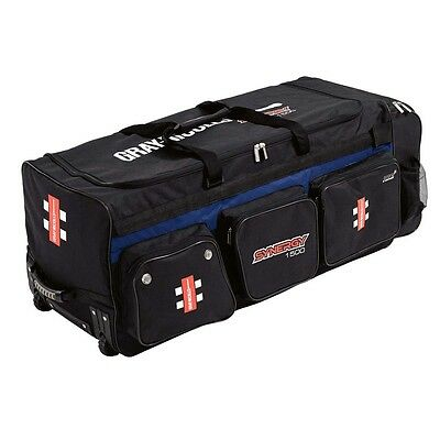 NEW Gray Nicolls Synergy 1500 Cricket Wheel Bag from Rebel Sport