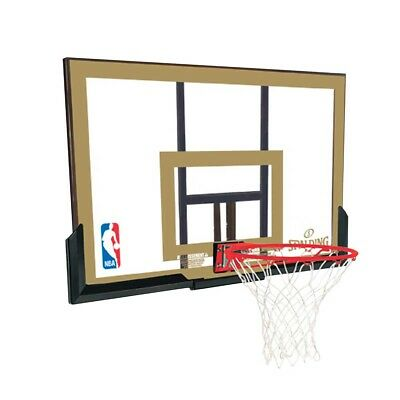 "NEW Spalding 44"" Acrylic Backboard and Bracket Combo   from Rebel Sport"