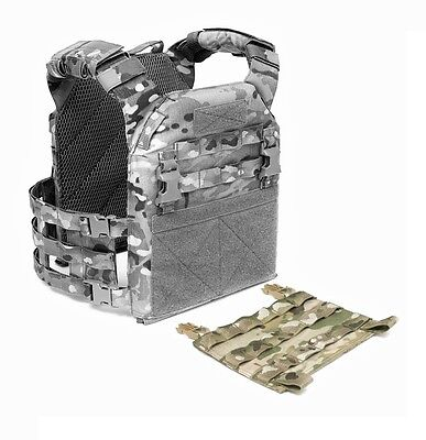 Elite Ops Recon Plate Carrier Replacement Molle Front Panel Multicam™ / Tan