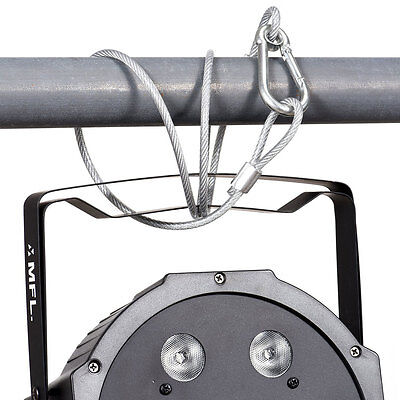 """Stage DJ Light Safety Cable Security Wire Cable 25.5"""" Stainless Steel MAX 110LBS"""