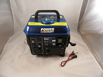 800W Petrol Generator & 12V Battery Charger