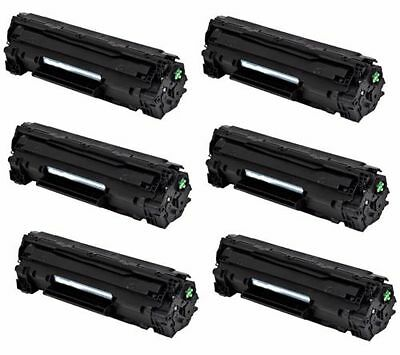 6-Pk/Pack 83A CF283A Toner Cartridge For HP M201dw M201n MFP M125a M125nw M127fw