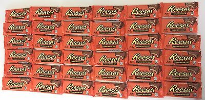 909859 BOX OF 36 x 42g PACKETS OF MILK CHOCOLATE REESE'S 2 PEANUT BUTTER CUPS