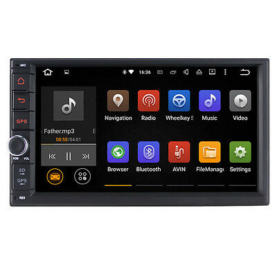 "ST Android 5.1.1 7"" HD head unit car radio stereo Navigation Double 2DIN"