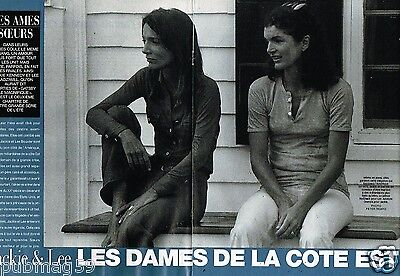 Coupure de Presse Clipping 2001 (12 pages) Jackie Kennedy et Lee Radziwill