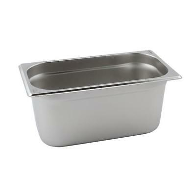 Gastronorm Container Stainless Steel 1/3 pan 150mm deep