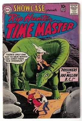 RIP HUNTER Showcase TIME DC Comics Silver age #20  VG- 3.5 1st appearance