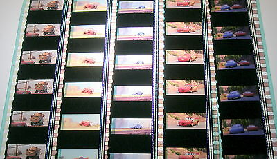Disney's/Pixar - Cars-  Rare Unmounted 35mm Film Cells - 5 Strips