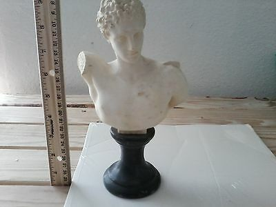 Antique Greek Bust of Hermes by Yanni Douatzis