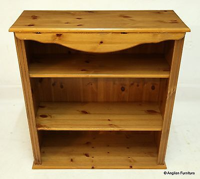 Pine Bookcase With 2 Shelves FREE Nationwide Delivery