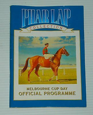 Tooheys Beer Melbourne Cup Phar Lap programme for home bar, pub or collector
