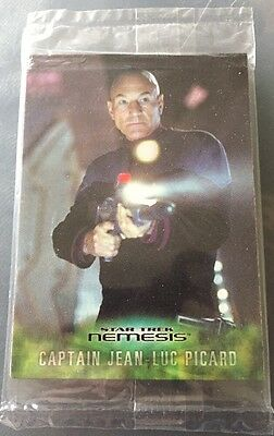 Star Trek Nemesis Movie WALLACE THEATRES Promo Card Set PT1-PT6 Sealed Pack