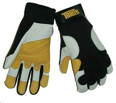 Tillman 1490 Gloves M, LG. XL, 2XL Goatskin Mechanics TrueFit Double Palm Work