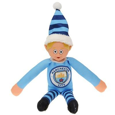 Manchester City FC Team Elf Christmas Football Collectables
