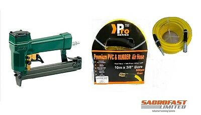 Omer 80 Type Automatic Air Stapler 80.16 V With 10M Air Hose
