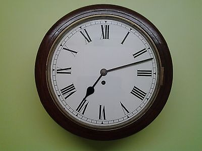 "Superb ""f.w Elliott"" Fusee Chain Drive School-Station Wall Clock  C1939"