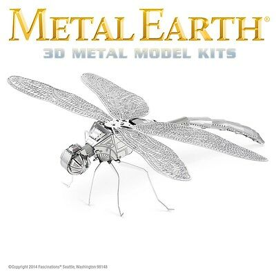 Fascinations Metal Earth Dragonfly Laser Cut 3D Model