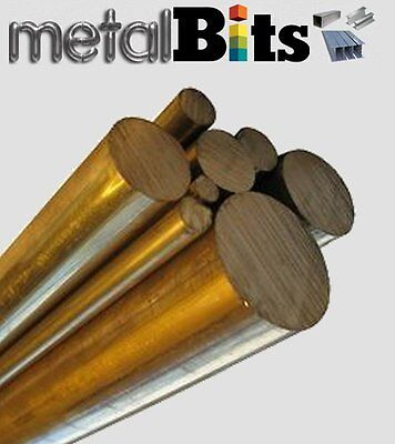 Phosphor Bronze round bar PB104 CuSn8 various sizes, lengths available