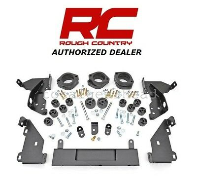 Rough Country 3 Body Lift Compatible w// 1995-1998 Chevy Silverado GMC Sierra Gas Suspension System RC704