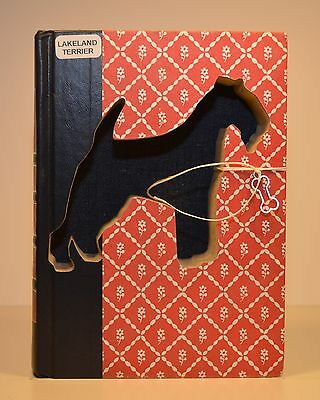 Lakeland Terrier Upcycled Book - 004