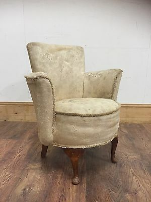 Small Vintage bedroom chair Project!!