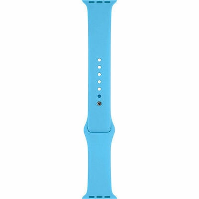 New Genuine Apple Watch Sport Band 38mm Blue Stainless Steel Pin - MLDA2ZM/A