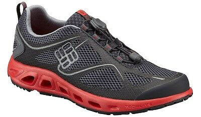 "New Mens Columbia ""Powervent"" Athletic Hiking Trail Fishing Boat Water Shoes"