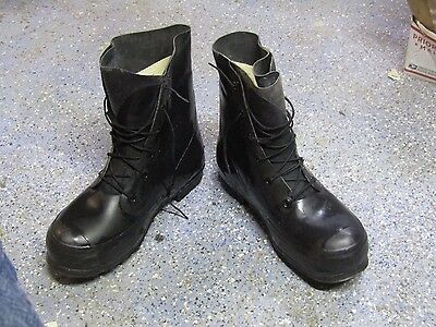G3M US Military Issue Pressurized Rubber Combat Boots DLA 100-85-c-4161 Sz11r